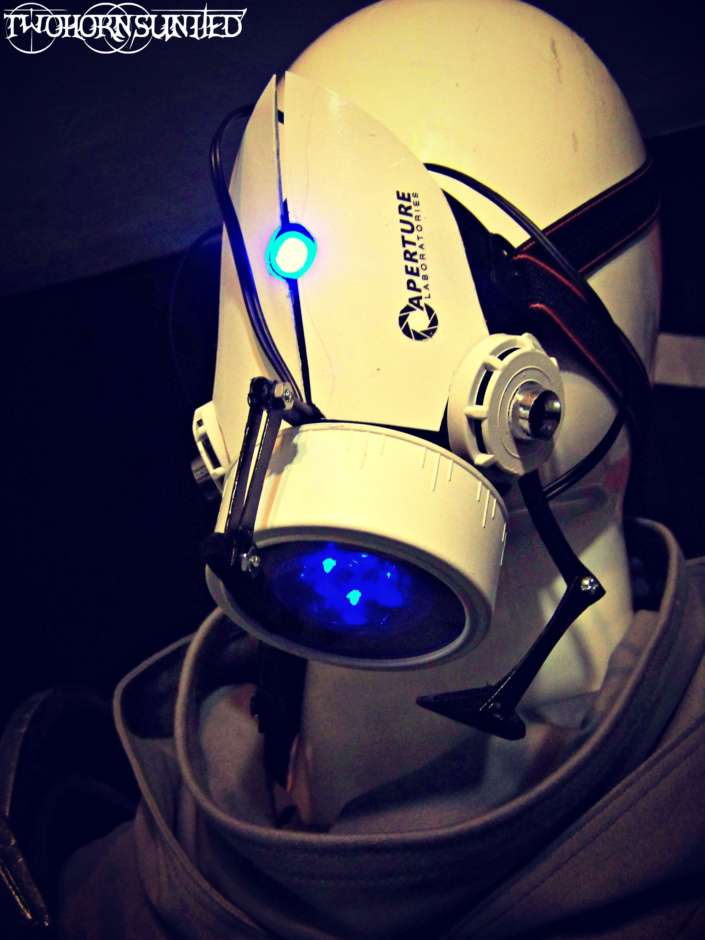 The Aperture Science''portal gun'' gas mask v2 by TwoHornsUnited