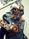 Steam Freak Biopunk/Steampunk light up armor