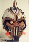 Steam Freak LIGHT UP Steampunk helmet