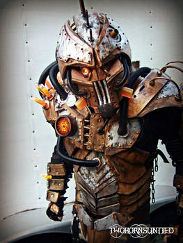The Steam freak 2.0 light up full Steampunk armor