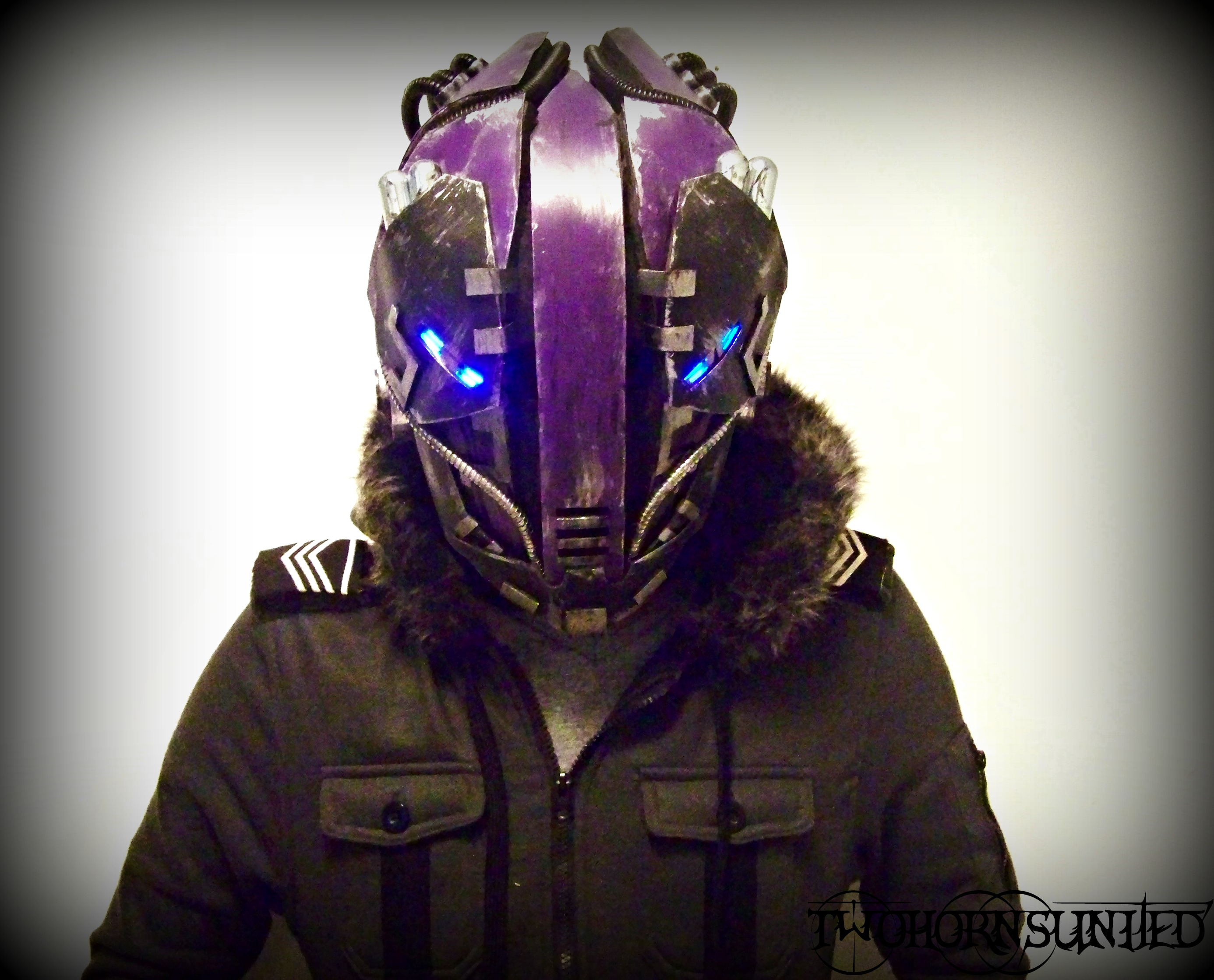 The K WiR3 Cyberpunk Helmet By TwoHornsUnited On DeviantArt