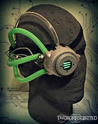 The Disruptor Cyberpunk LED Monocle by TwoHornsUnited