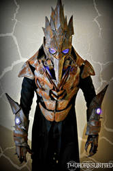 The Iron Beak LED TeslaPunk Plague Doctor Costume by TwoHornsUnited