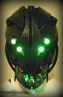 The ''Gurath'' light up Alien Moving jaw mask by TwoHornsUnited