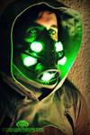 The Neuromancer Cyberpunk mask