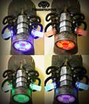 The Transmutation color changing cyberpunk gasmask