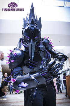 The Black Plague dark futuristic Light up costume