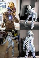 The Soul Bender Demonic Light up full costume by TwoHornsUnited