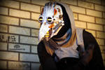 Polar Vortex - Arctic cyber plague doctor mask