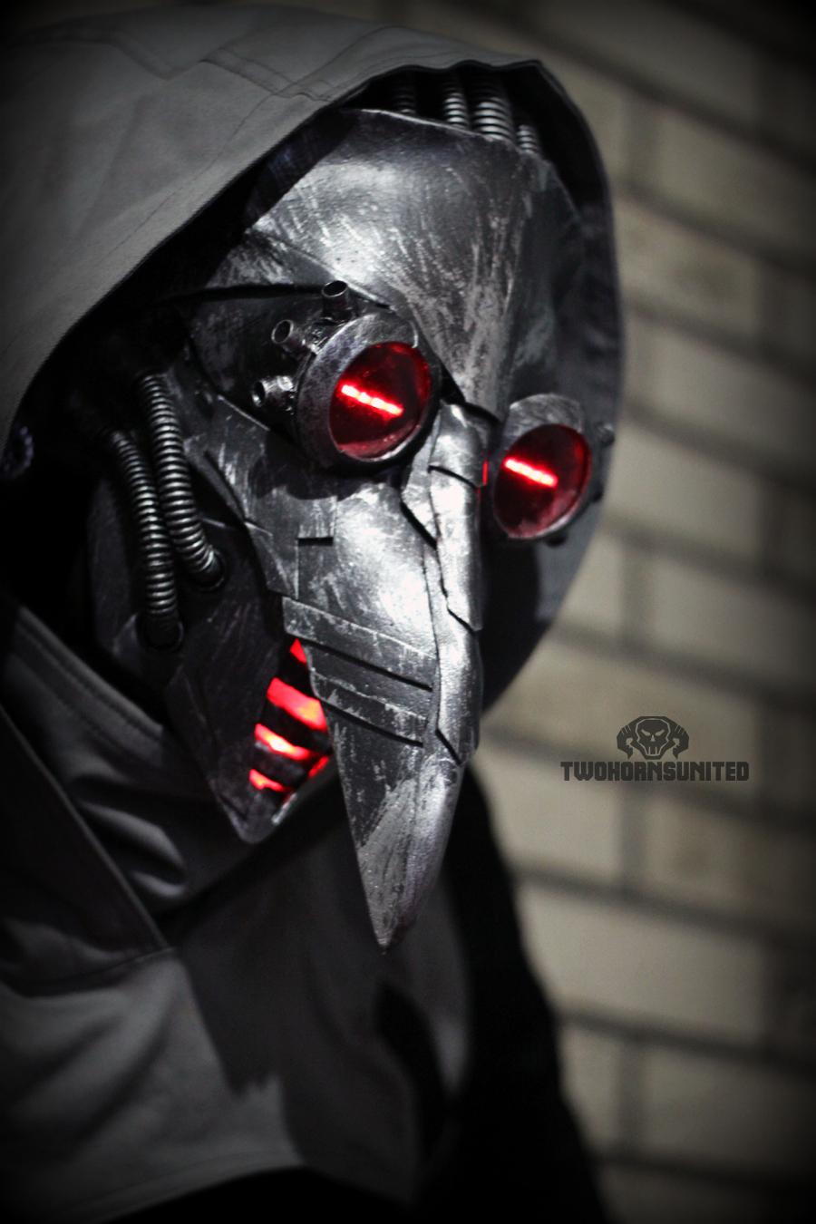 Чумной доктор маска стимпанк