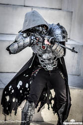 The Imperial Assassin - Cyberpunk cosplay by TwoHornsUnited