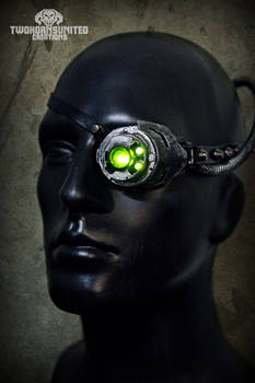 Digital Hedonist Cyberpunk LED monocle