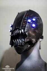 Dr. Piranha - rogue cyberpunk mask