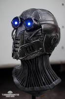 The Nullifier - LED cyberpunk mask