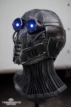 The Nullifier - LED cyberpunk mask
