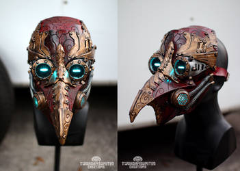 Arcane Steampunk plague doctor mask