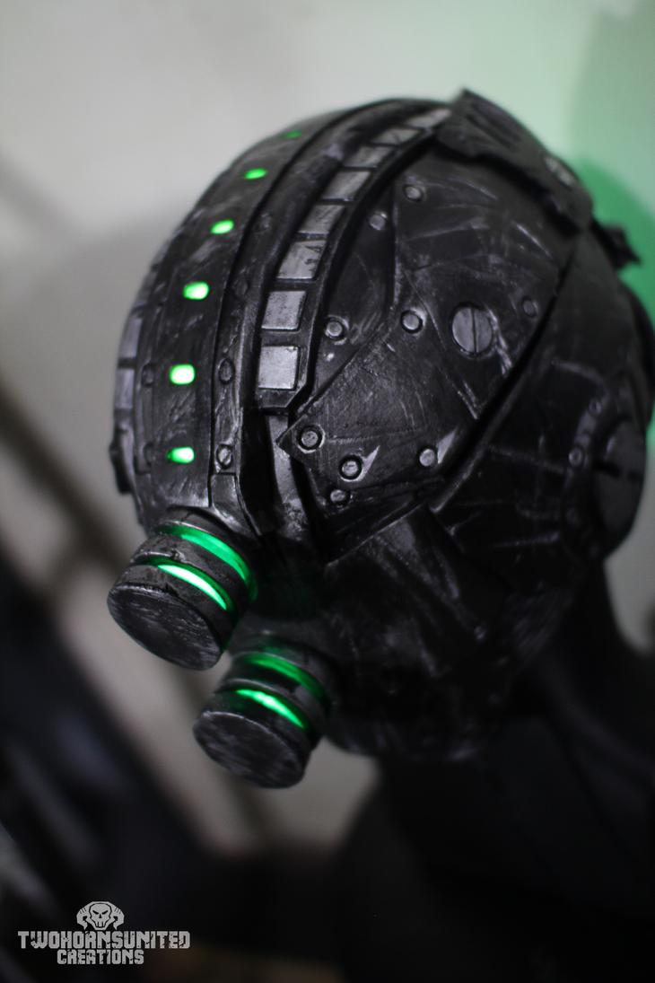 The Grave Ender Helmet v2. [Electromancer version] by TwoHornsUnited