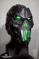 The Grave Ender v2.0 cyberpunk mask by TwoHornsUnited