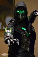 Plague knight - Armored Cyberpunk plague Doctor by TwoHornsUnited