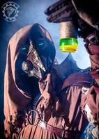 Dr. Cipherous - Arcane steampunk plague doctor by TwoHornsUnited