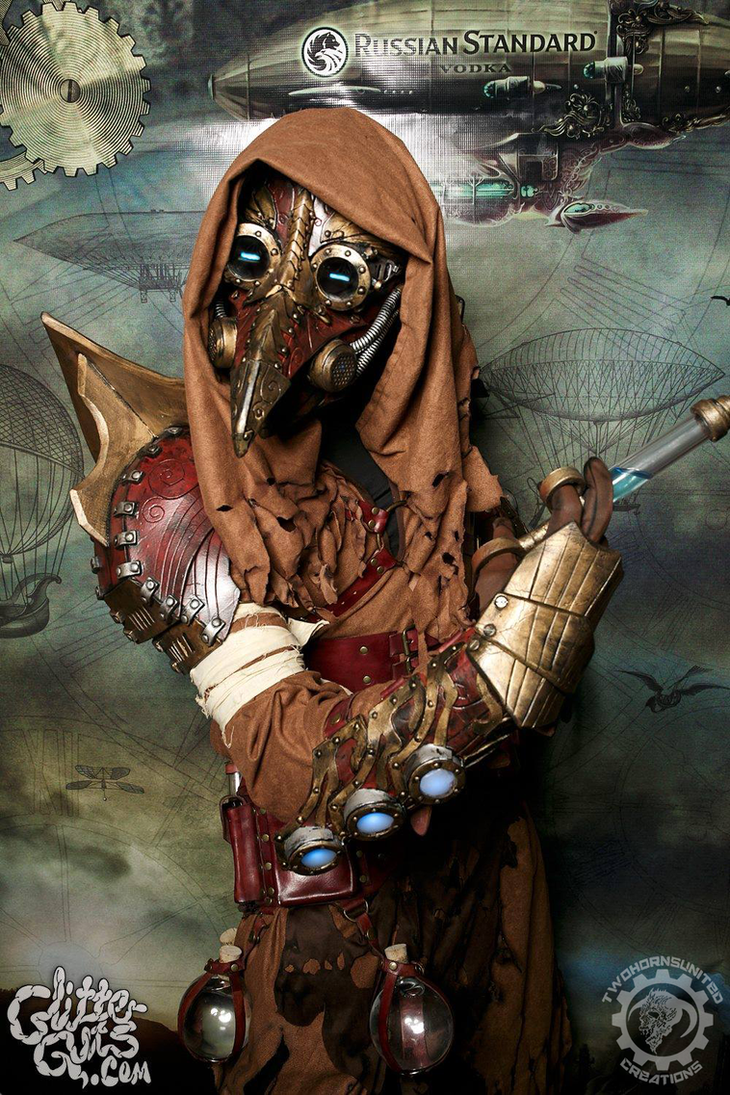 dr cipherous arcane steampunk plague doctor by