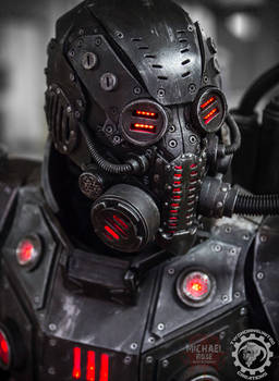 The Panzersoeldner - light up dieselpunk armor