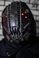 The Glitch Mk IV cyberpunk movable jaw mask
