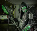 The DreadWraith - Full RGB LED dystopian armor