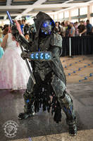 The DreadWraith - Full RGB LED dystopian armor by TwoHornsUnited