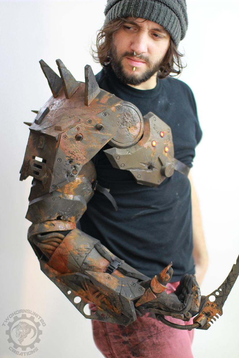 wasteland reaper cyborg arm by TwoHornsUnited