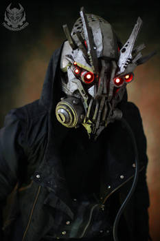 demontech rouge cyberpunk mask