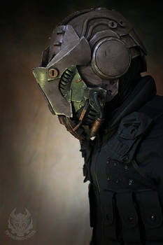 The Interceptor helmet