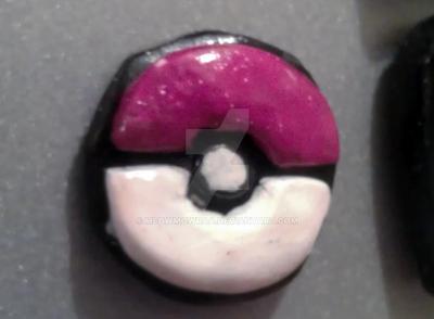 Pokeball logo magnet by MeowMowRaa