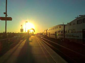 Train to Burbank