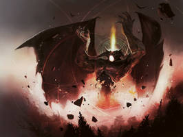 MTG - Lord of The Pit by Kar-LOL