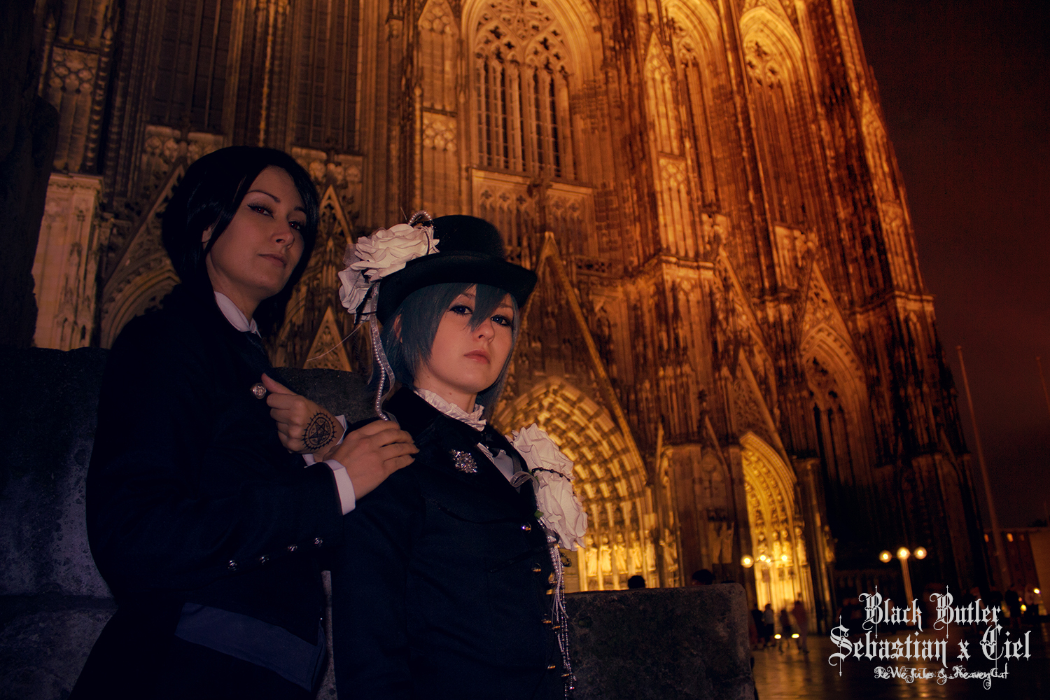 Black Butler: At Night by HeavenCatTheRealOne