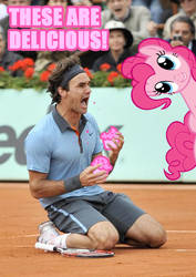 Federer and Pinkiepie