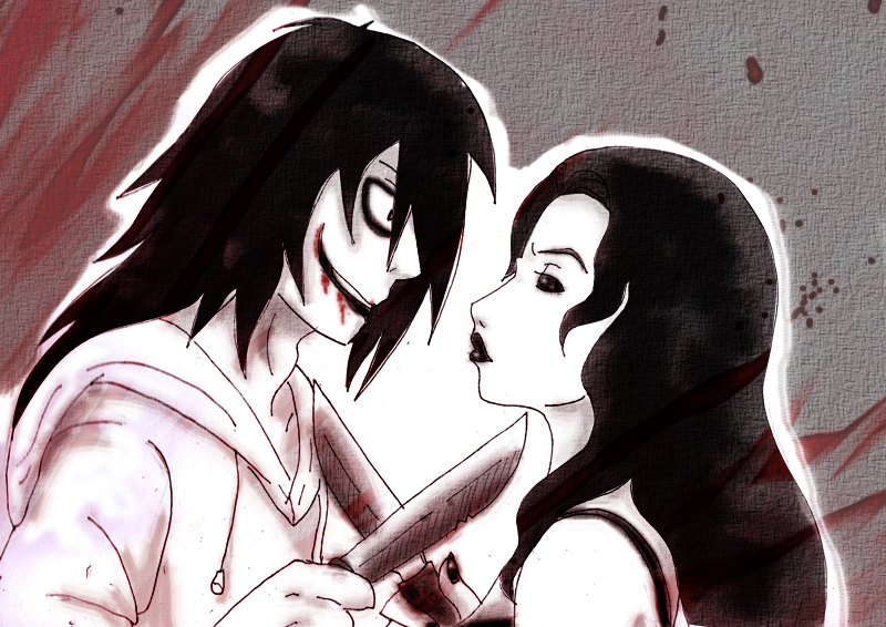 Jeff the killer x Jane the killer by hinatitaXD