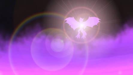 Dawn of purple dragon