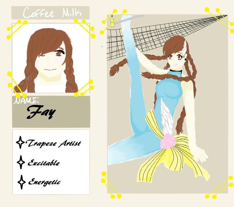 Coffee Milk Fay Application by Katelynofhearts