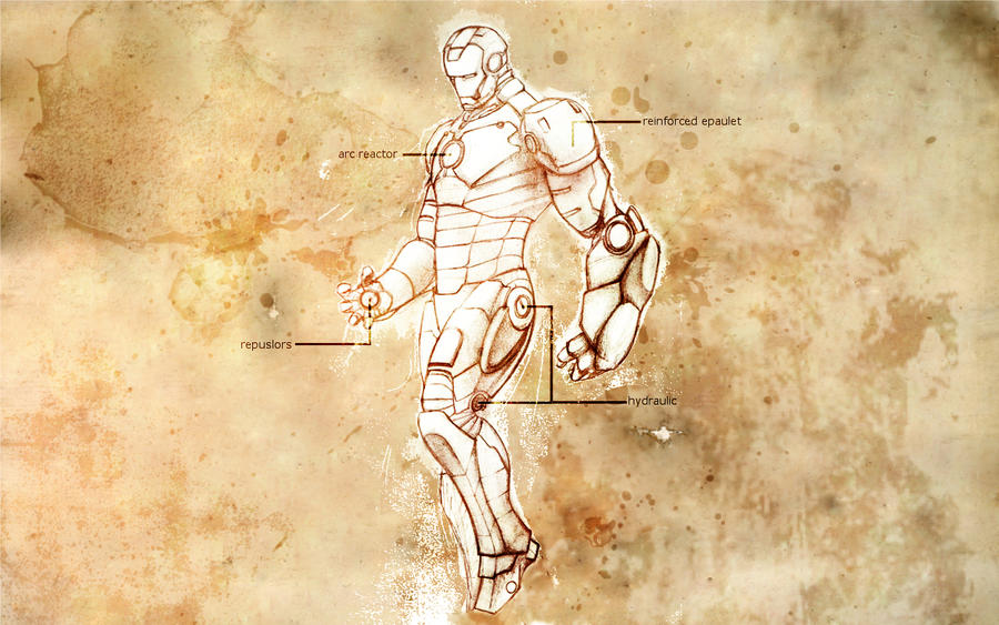 Iron man blueprint by silverxsparrow on deviantart iron man blueprint by silverxsparrow malvernweather Image collections