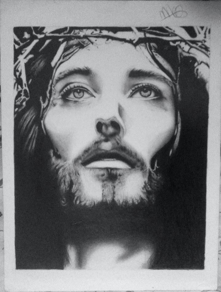 Jesus Christ by mikkiandart