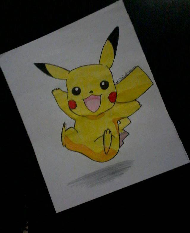 pikachu by chaimabel