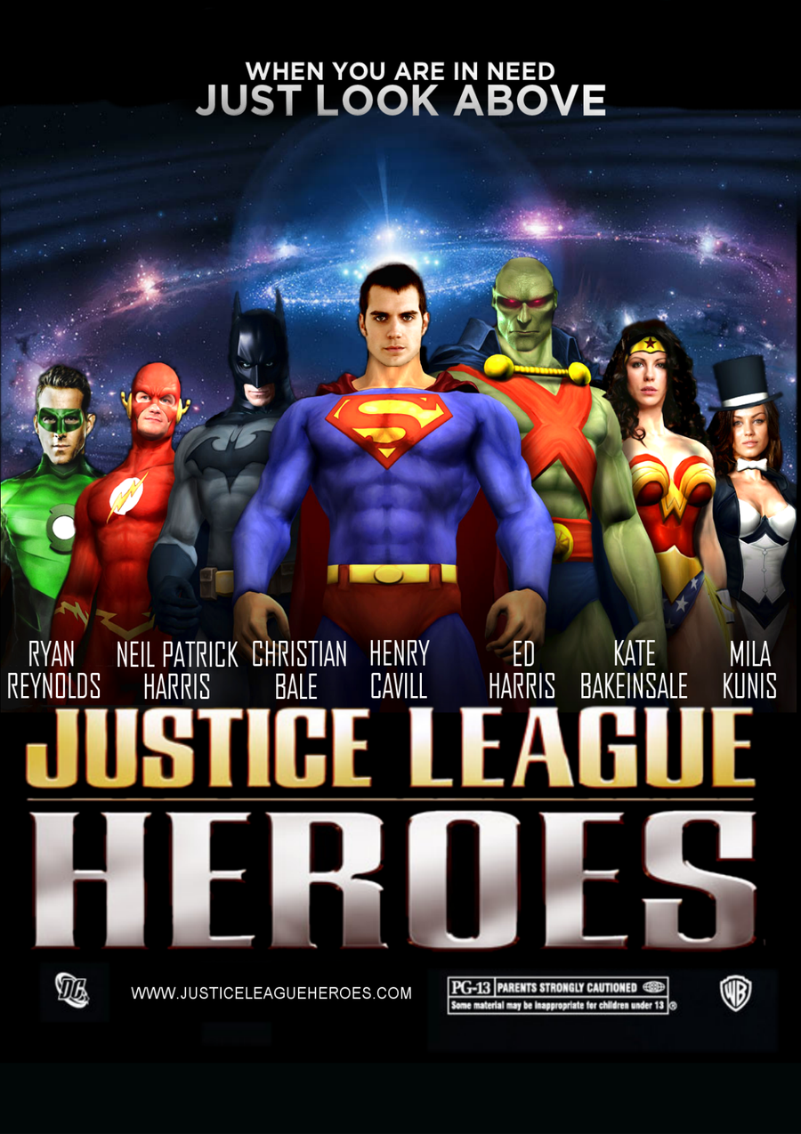 Justice League Movie Poster by Jo7a