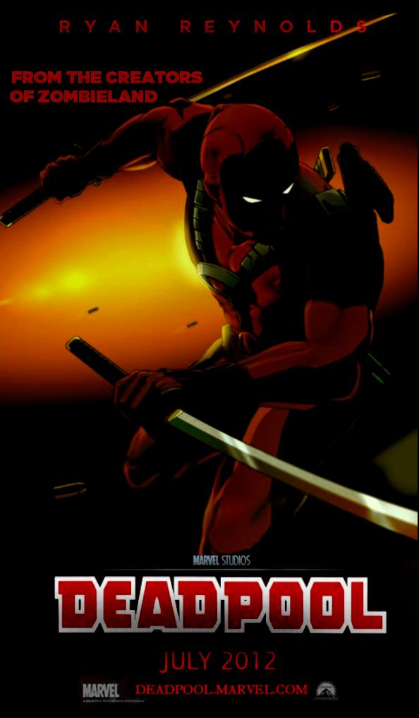 Deadpool Movie Poster 2014 Deadpool movie poster by jo7a