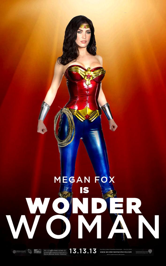 wonder woman megan foxjo7a on deviantart