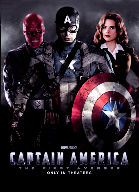 Captain America Poster by Jo7a