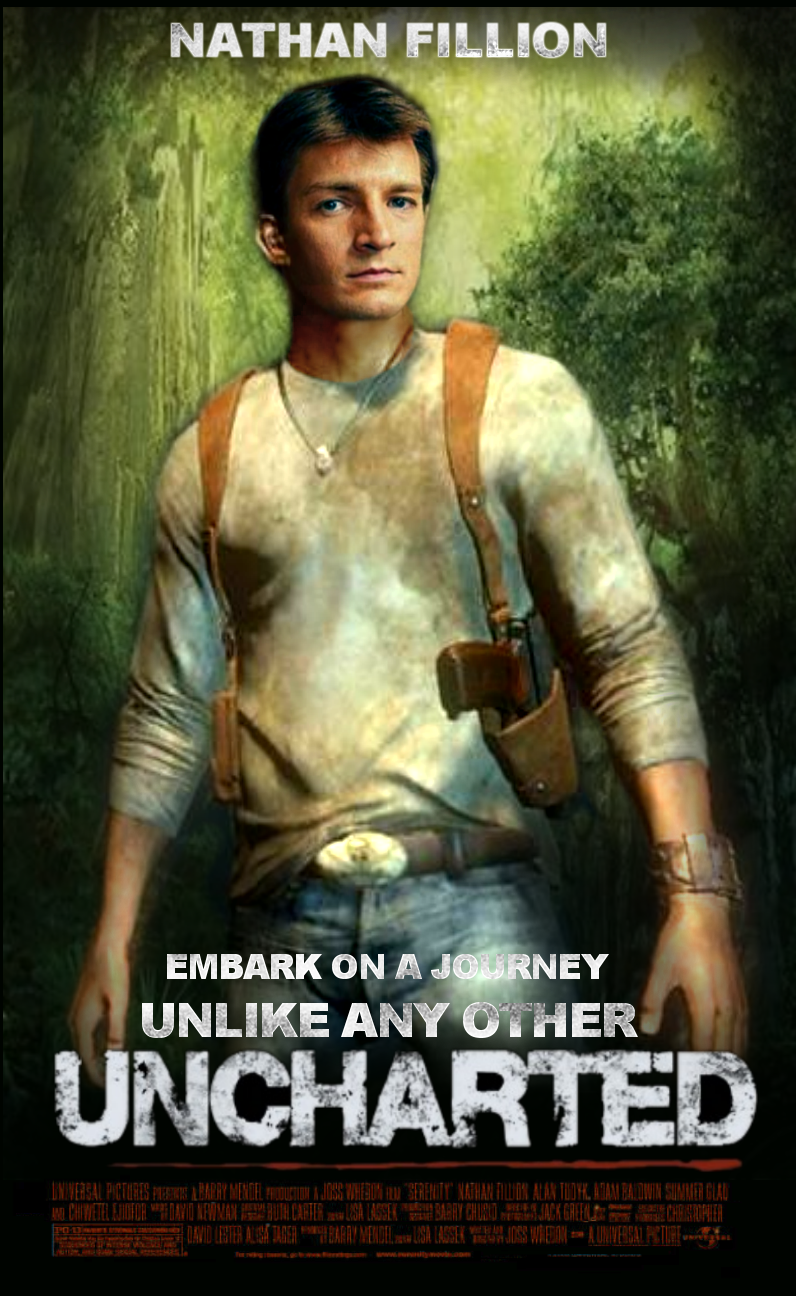 Uncharted Movie Nathan Fillion By Jo7a On Deviantart