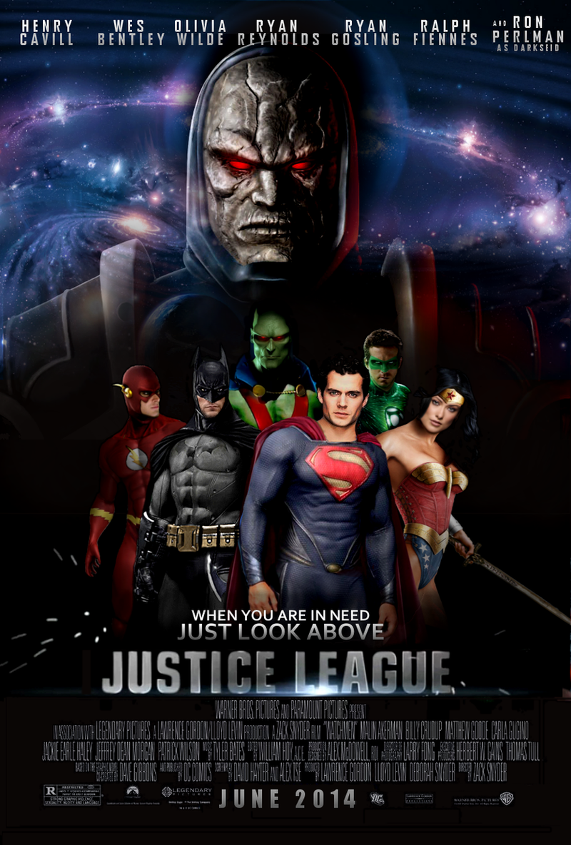 Justice League Movie Poster by Jo7a on DeviantArt