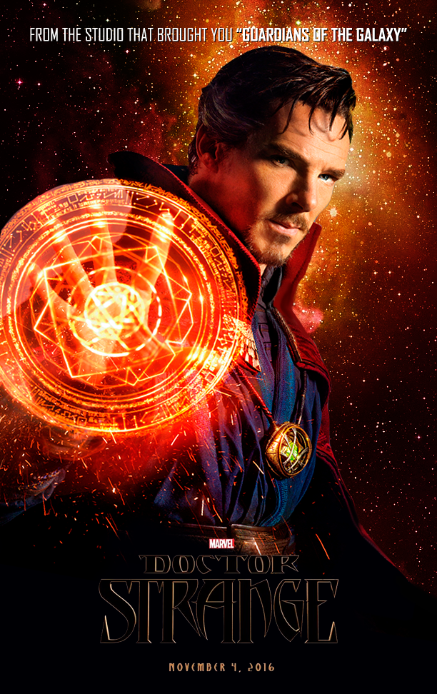 Doctor Strange Movie Poster by Jo7a on DeviantArt